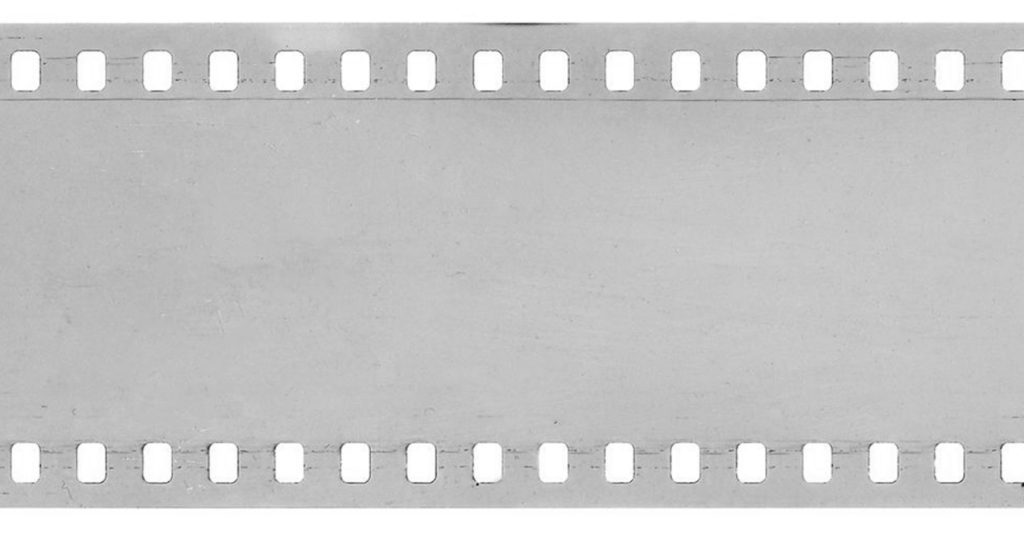 Clear film with no numbers.