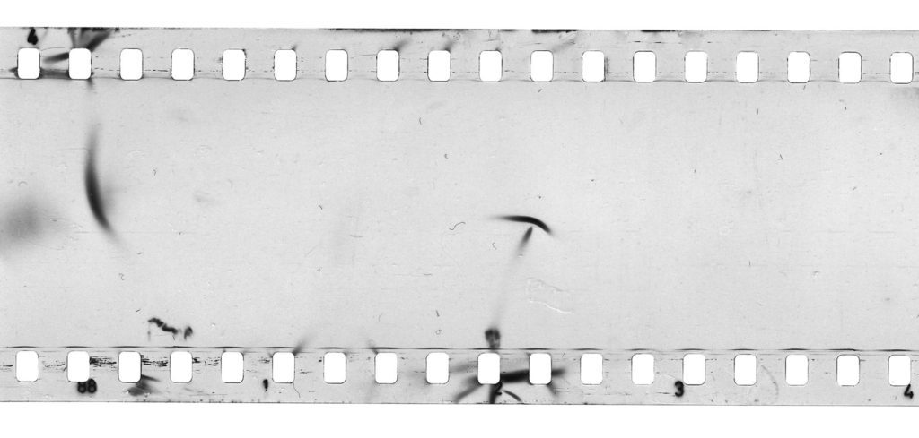 Film with Half-Moon And Crescent Shapes on it.