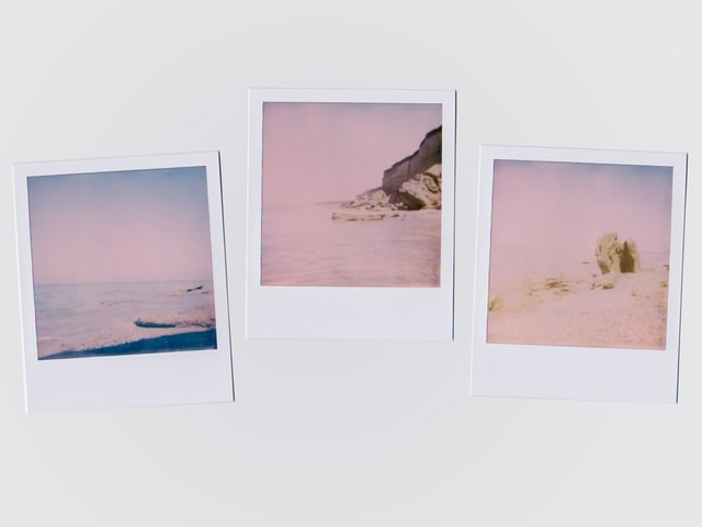 An image of 3 Polaroid Instant Films