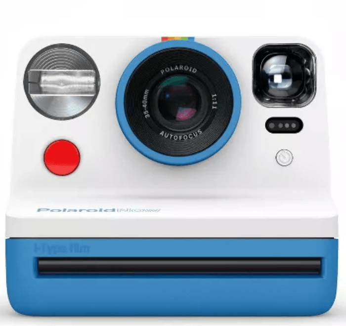 Polaroid Now I-Type Instant Camera in Blue