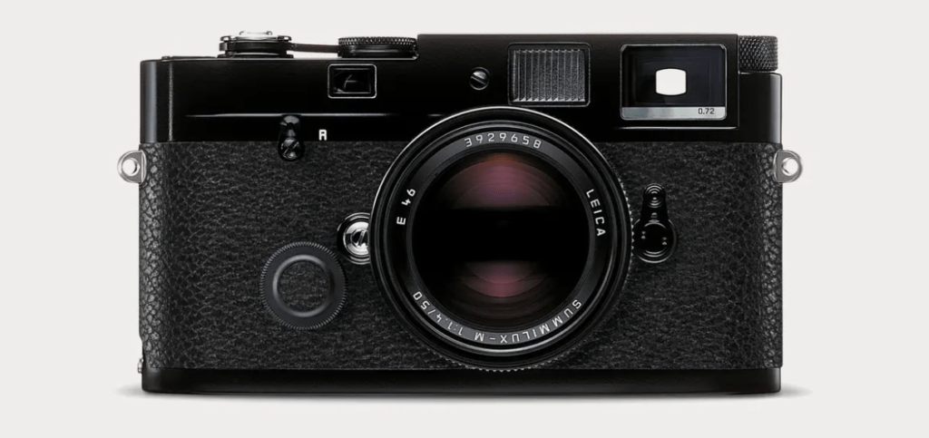 Leica's metered Mechanical Perfection (MP) 0.72 Rangefinder 35mm camera