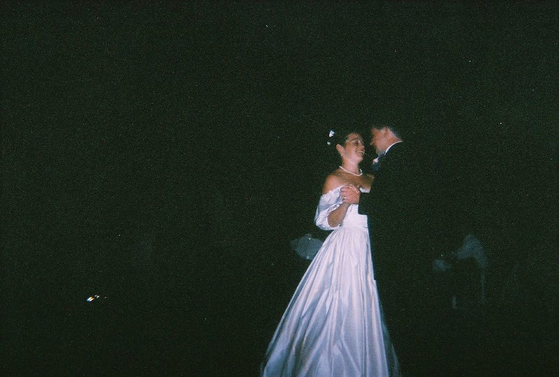 Disposable Camera Image Using A Flash In Low Light